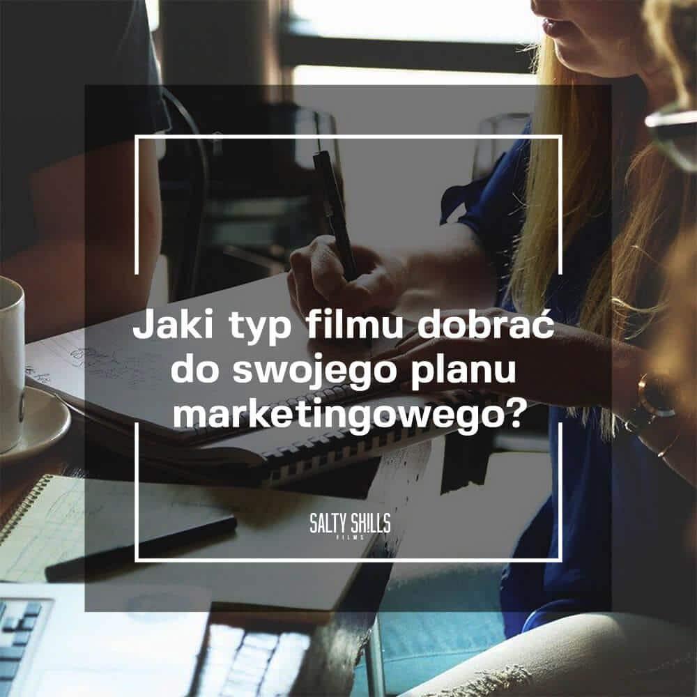 banner wpisu jaki typ filmu dobrać do swojego planu marketingowego
